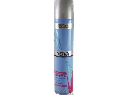 Nova Extra Hold lak na vlasy silně tužící 450 ml