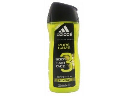 Adidas Pure Game 3v1 sprchový gel pánský 250ml