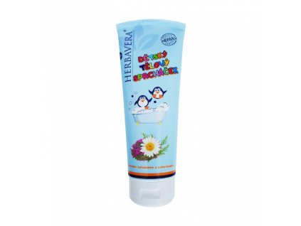 Herbavera Sprcháček dětský sprchový gel, 250 ml