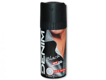 Denim Black tělový deodorant 150ml