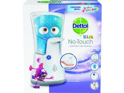 Dettol Kids Dobrodruh bezdotykový dávkovač mýdla a náplň, 250 ml