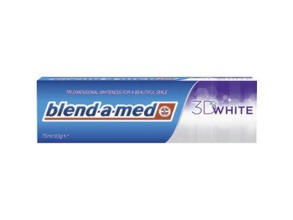 Blend-a-med 3D White zubní pasta s bělícím účinkem, 75 ml