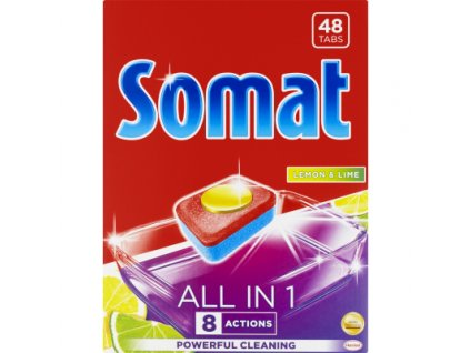 Somat All In 1 Lemon tablety do myčky 48 ks
