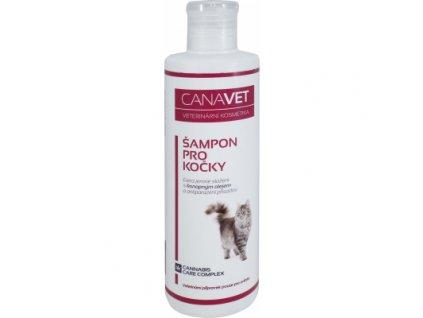Canavet antiparazitní šampon pro kočky, 250 ml