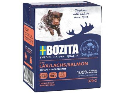 Bozita Dog losos, konzerva kousky v želé, 370 g