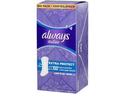 Always Discreet Long inkontinenční intimní slipové vložky, 40 ks