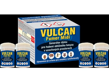 Dýmovnice VULCAN FUMER MIDI 4ks