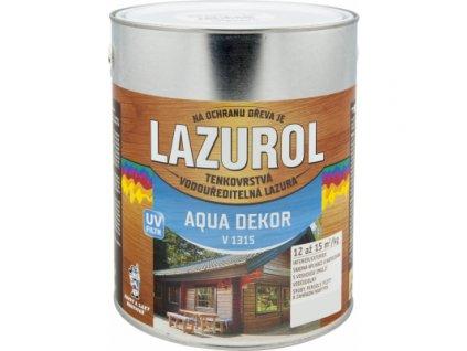 Lazurol Aqua Dekor V1315 tenkovrstvá lazura na dřevo, dub, 2,5 kg