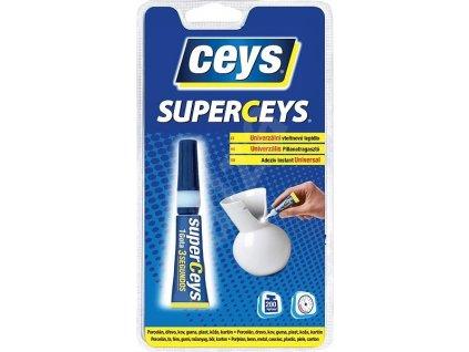 SUPERCEYS Universal vteřinové lepidlo 3g