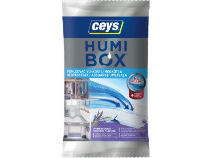 Ceys HUMIBOX pohlcovač vlhkosti levandule, 2 × 60 g