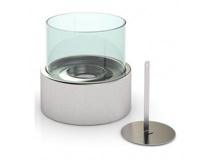kamna na biolíh 16,3x16,3x15cm stolní