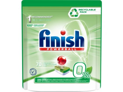 Finish Powerball Green Eco tablety do myčky, 70 ks