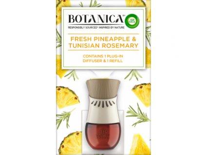 Air Wick Botanica Svěží ananas & tuniský rozmarýn elektrický osvěžovač vzduchu a náplň, 19 ml