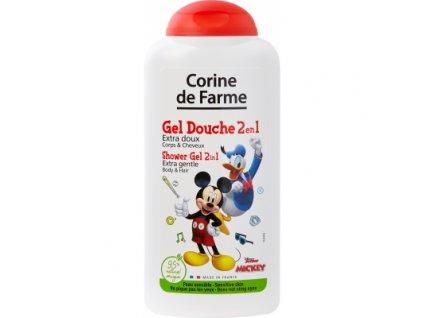 Corine De Farme Disney 2v1 sprchový gel a šampon, 250 ml