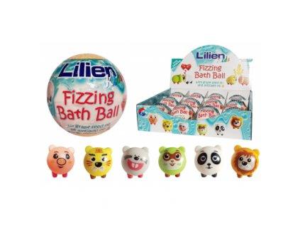 Lilien Kids šumivá koule do koupele s překvapením, 12 ks