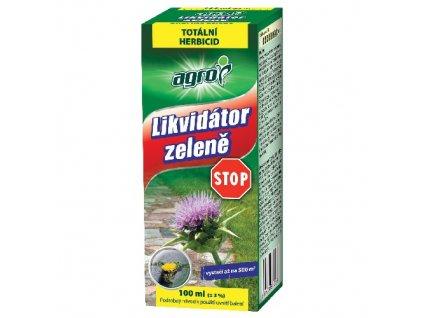 STOP likvidátor zeleně 100ml