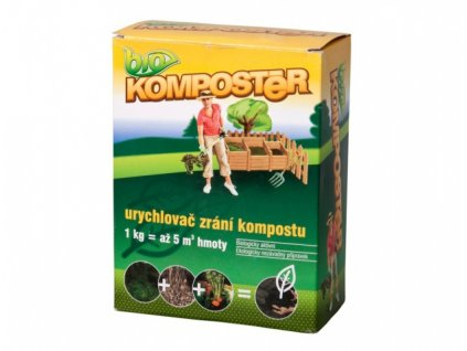 Aktivátor kompostu BIOKOMPOSTER 1kg