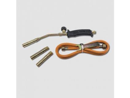 Opalovací plynová souprava 3 nástavce 2KW hadice 1,5m