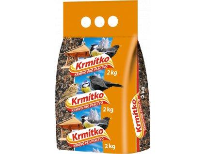 Směs krmná KRMÍTKO pro venkovní ptactvo 2kg