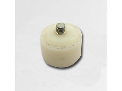 Plastová koncovka bílá 40mm