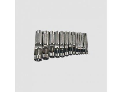 Děrovač kůže 2-22mm 15ks