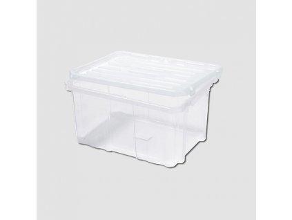 Box plastový s víkem 400x300x200mm Cargobox