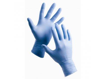 Jednorázové rukavice BARBARY, nitrilové