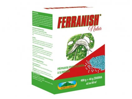 Ferranish Natur 400+40g zdar slimáci