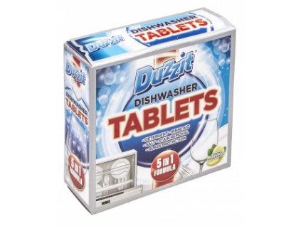 Duzzit 5v1 12ks tablety myčka citron