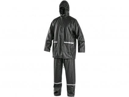Oblek CXS PU, nepromokavý, antracitový