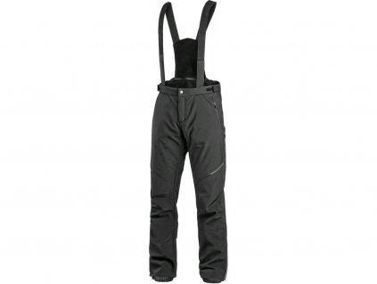 Kalhoty CXS TRENTON, zimní softshell, pánské, černé