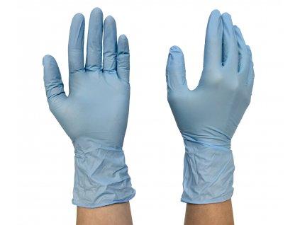 AERO EXANIT nitrilové nepudrované rukavice, 200ks, vel. 10