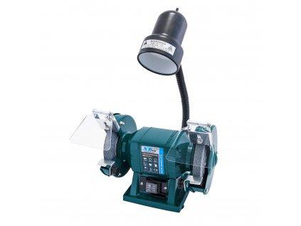 XTline 107150 Bruska el. stolní dvoukotoučová 150mm/300W + svítidlo 40W