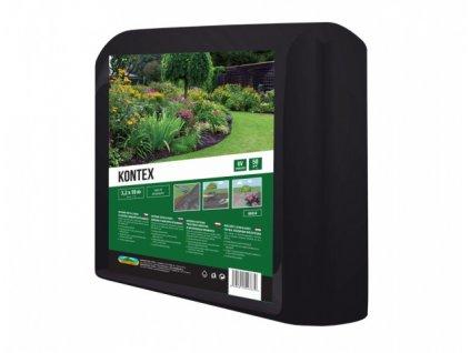 Textilie KONTEX mulčovací netkaná černá 3,2x10m