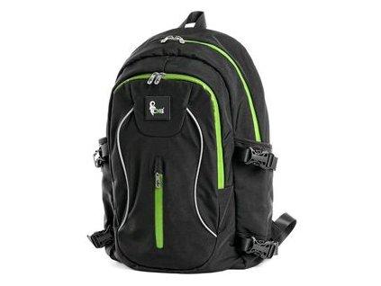 Batoh CXS 49x30x11 černo-zelený
