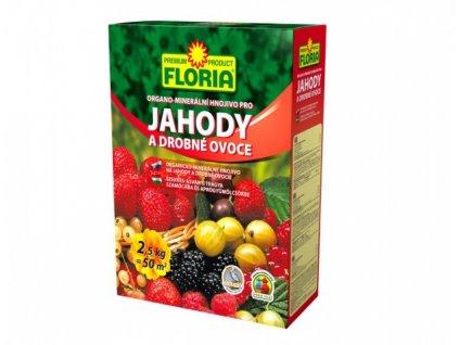 Hnojivo FLORIA organo-minerální na jahody 2,5kg