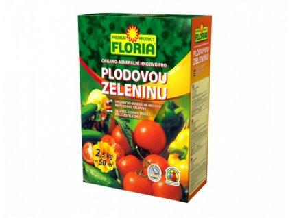 Hnojivo FLORIA organo-minerální na plodovou zeleninu 2,5kg