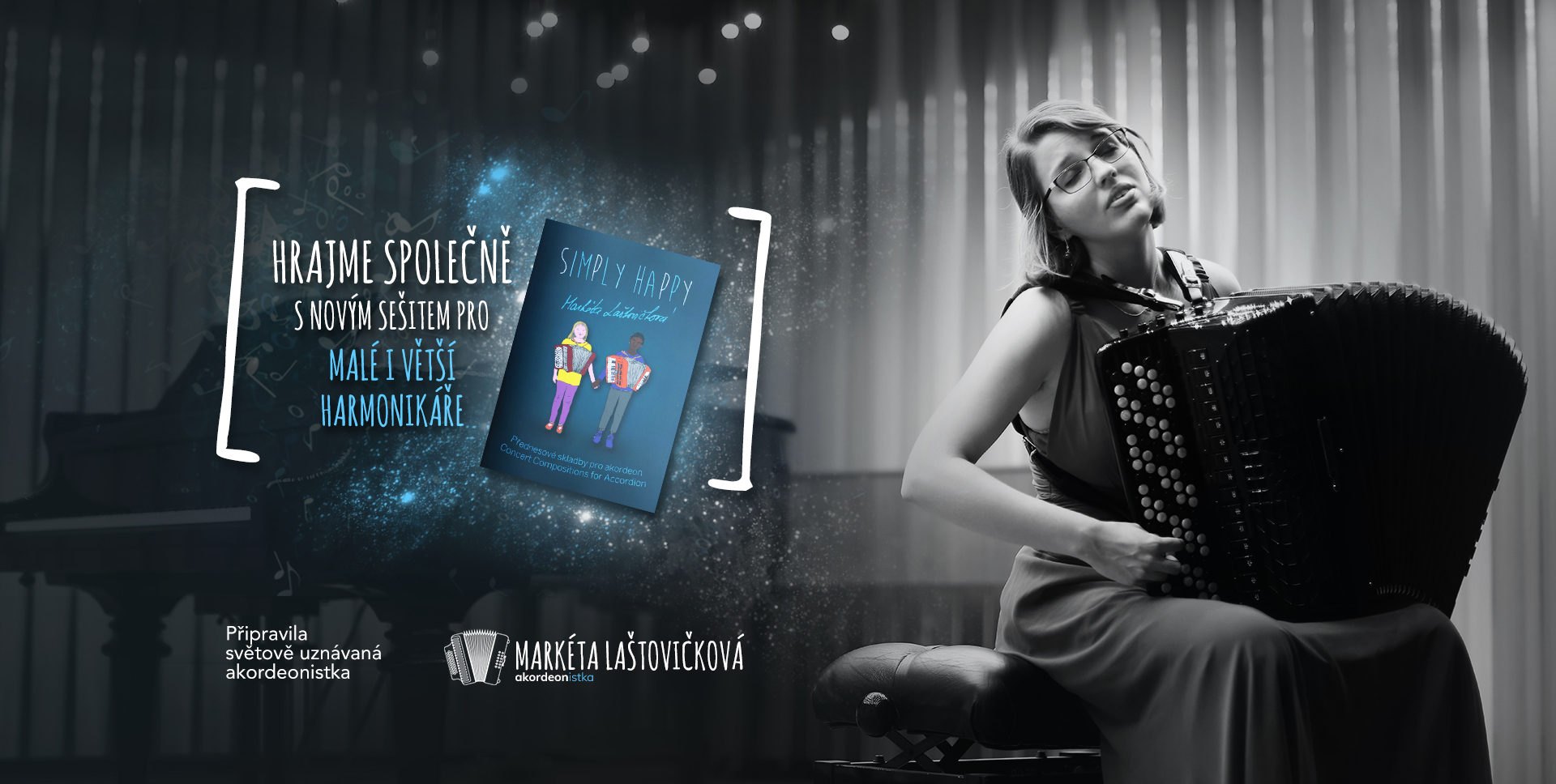 Markéta Laštovičková - akordeonistka