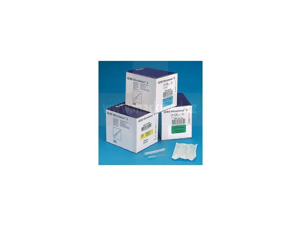 Jehla BD Microlance 23G (0,6x30mm) modrá (100ks)