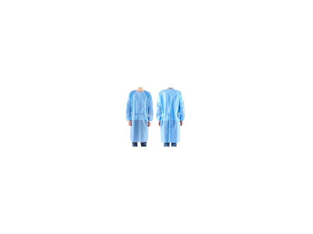 Sterilní chirurgický plášť s čepicí  z netkané textilie