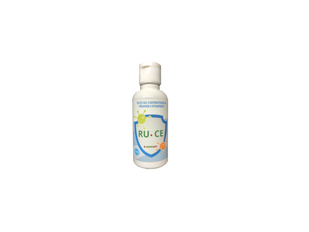 Čistící gel s antibakteriální přísadou a vitamínem E
