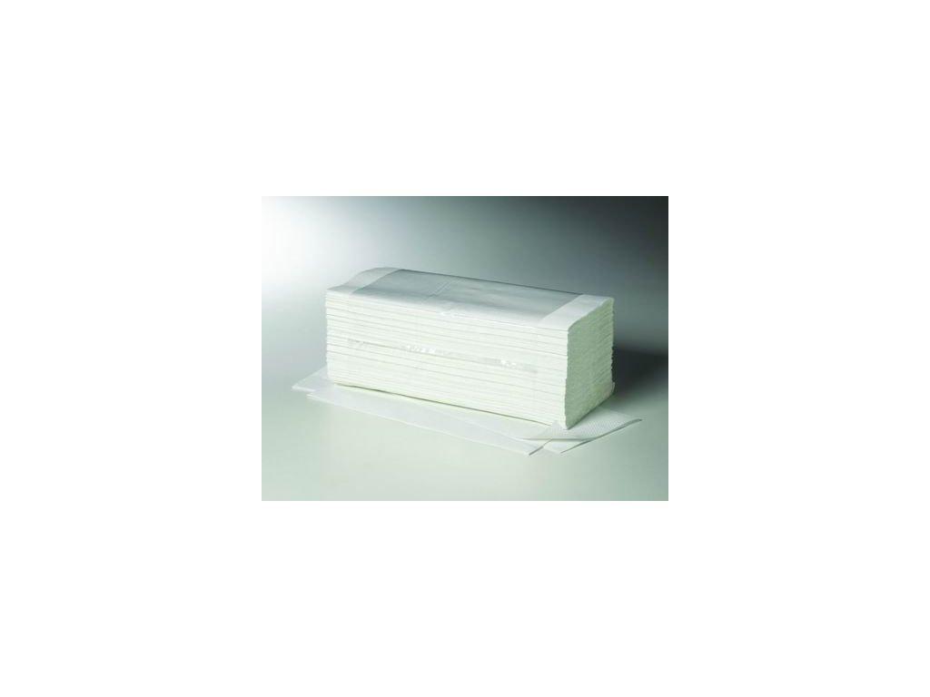 Papírové ručníky bílé