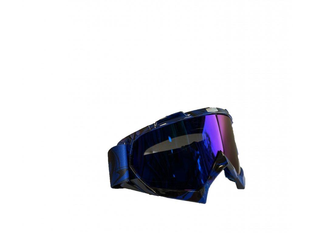 Modré Cross/MTB brýle - modré sklo