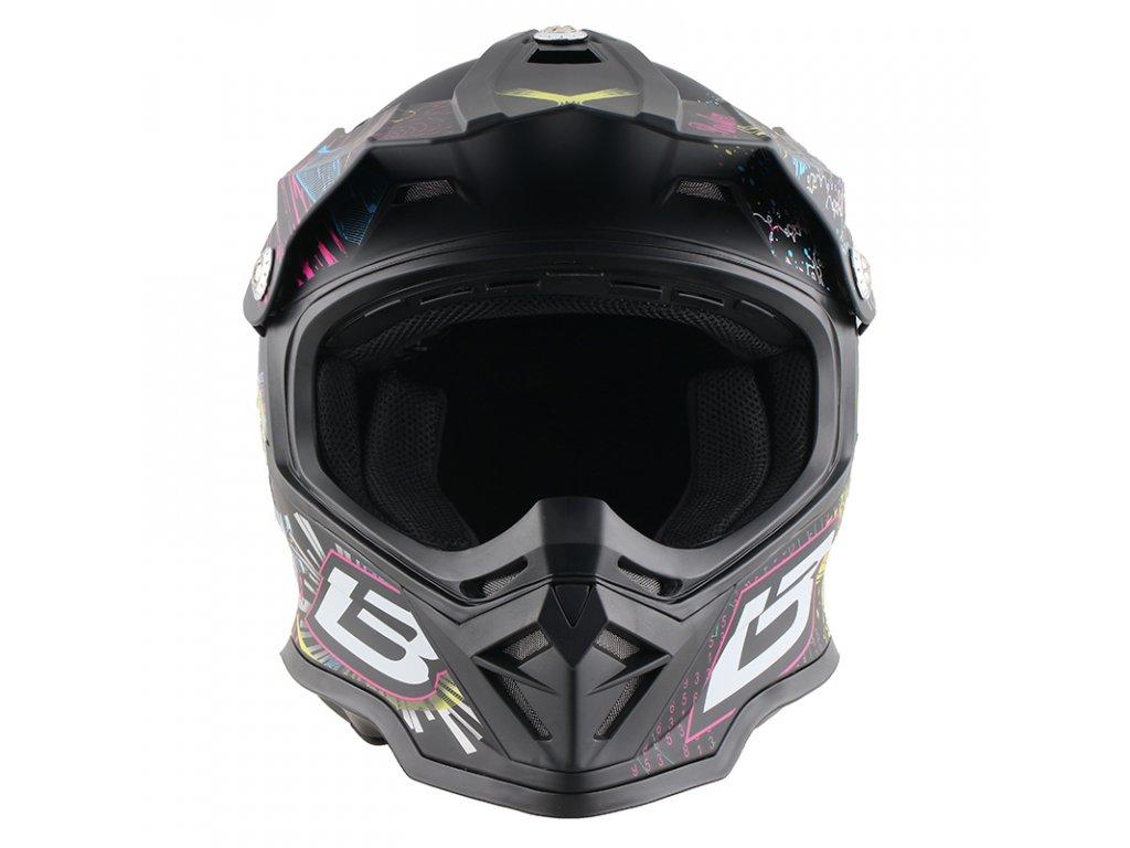 Dětská cross helma LB design