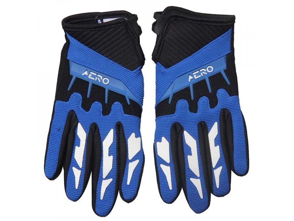 Dětské rukavice AERO - modré