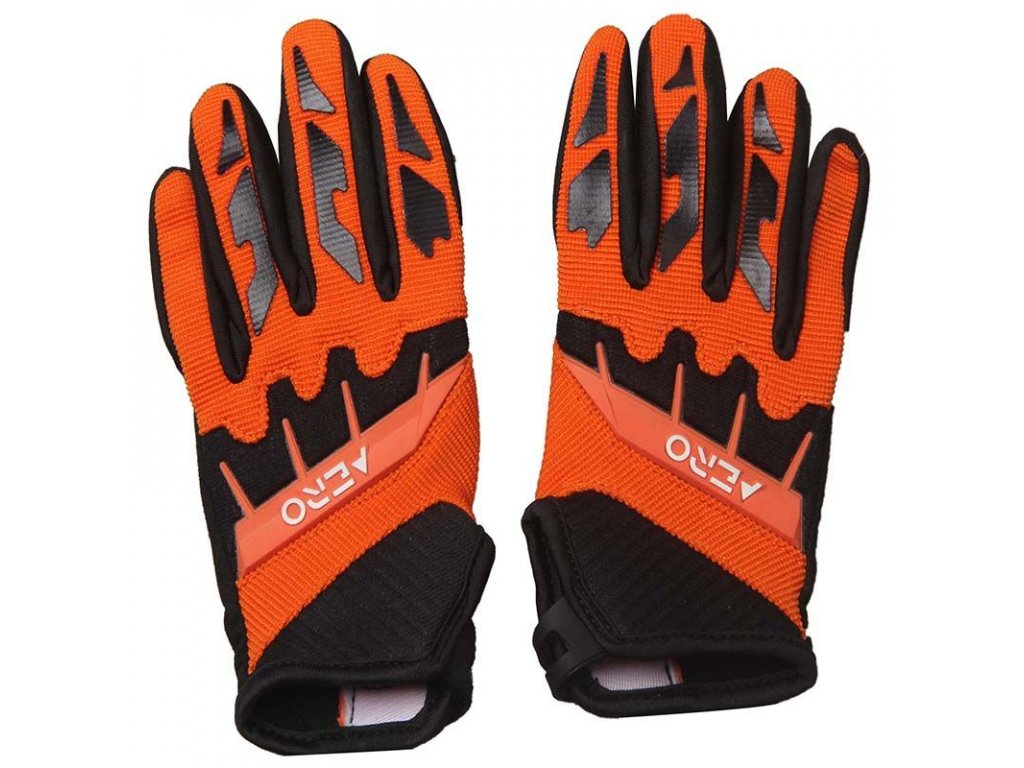 Dětské rukavice AERO - oranžové