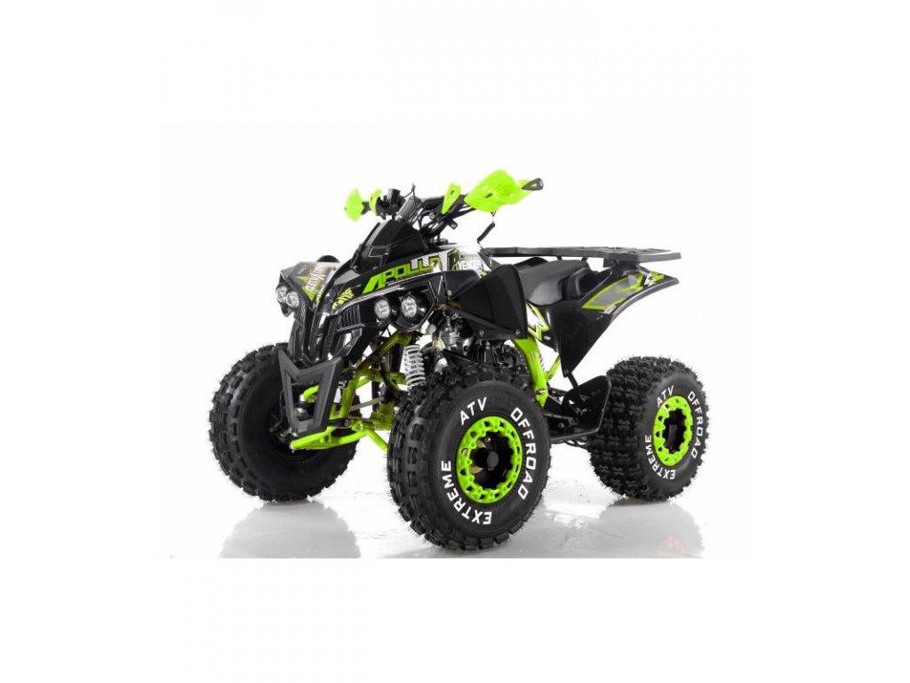 Dětská čtyřkolka Avenger 125cc 1G8 - fosforově žlutá