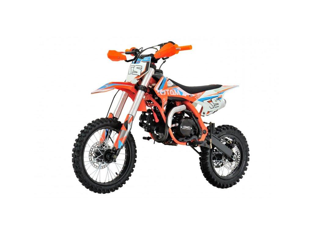 PitBike XMOTOS - XB27 Semi-Automatic 90cc 4t 12/10 oranžový