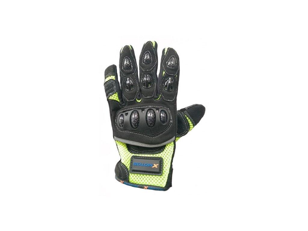 moto rukavice xmotos pro dospele velikost s cerne (2)