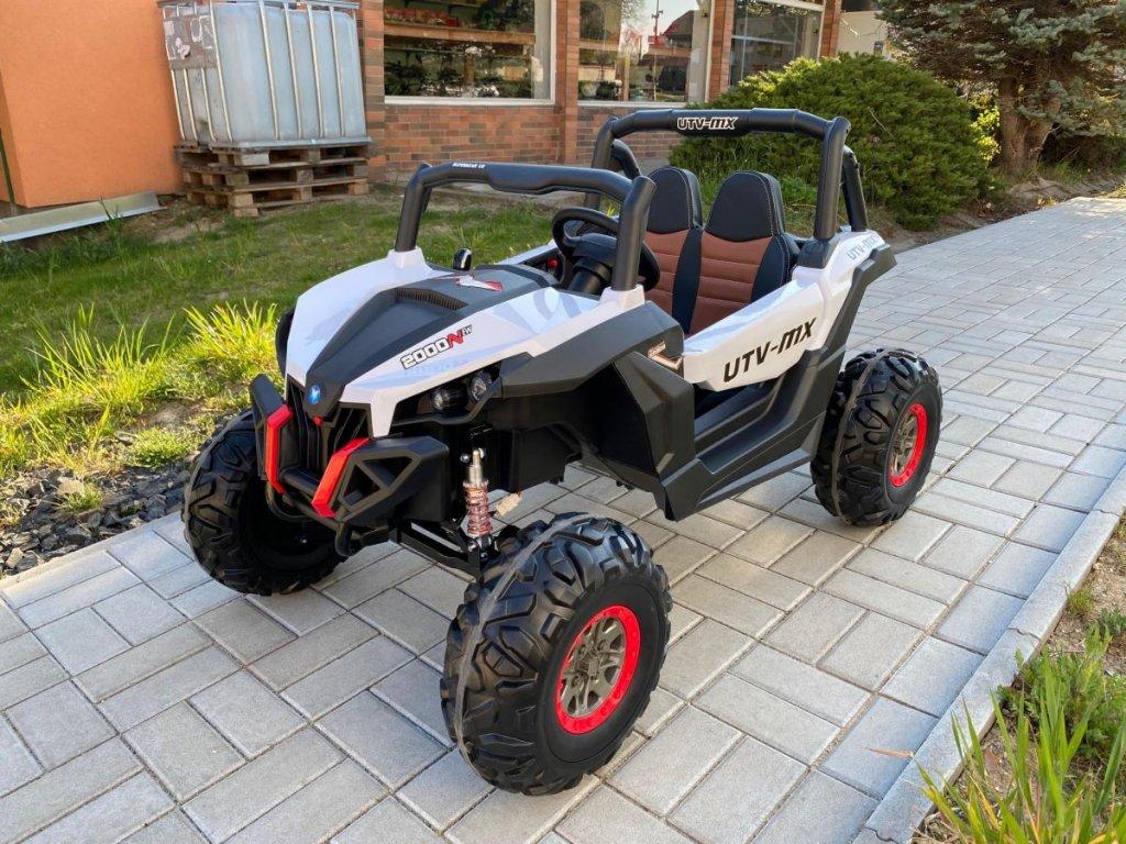 Elektrické autíčko Buggy 4x4, model 2021,bílé